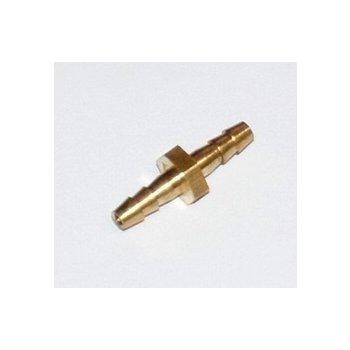 Соединитель трубки (метал) 3мм