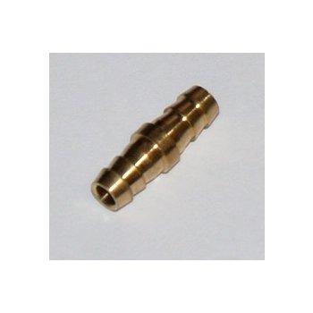 Соединитель трубки (метал) 5мм