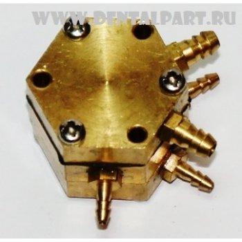 Распределительный клапан подачи воды 5 входов