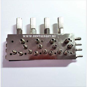 Распределительный клапан на 4 инструмента