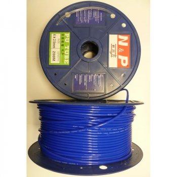Трубка полиуретановая высокого давления ø2,5*4мм синий, белый