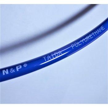 Трубка полиуретановая высокого давления ø3*2мм, синий, белый